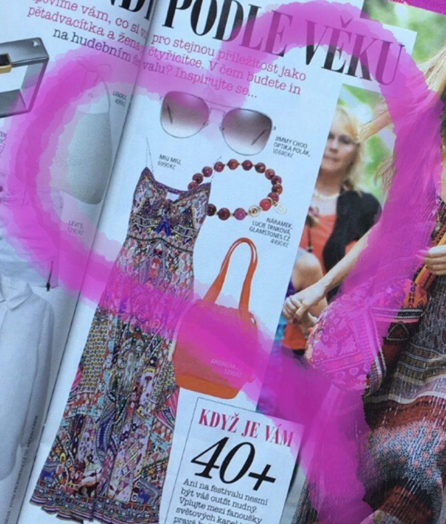 šperky Lucie Trnková glamstones časopis Story návrhářka