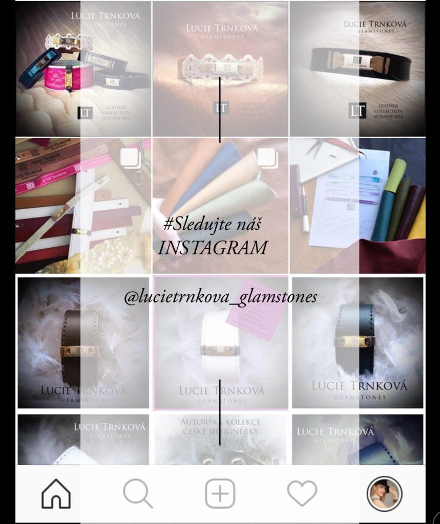 šperky náramek návrhářka glamstones